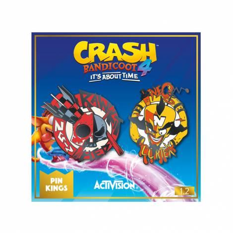 MER Numskull Official Crash Pin Kings  1.2