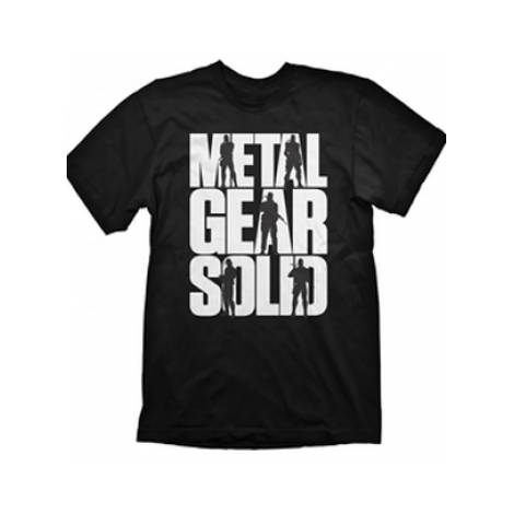 METAL GEAR SOLID LOGO T-SHIRT - SIZE LARGE