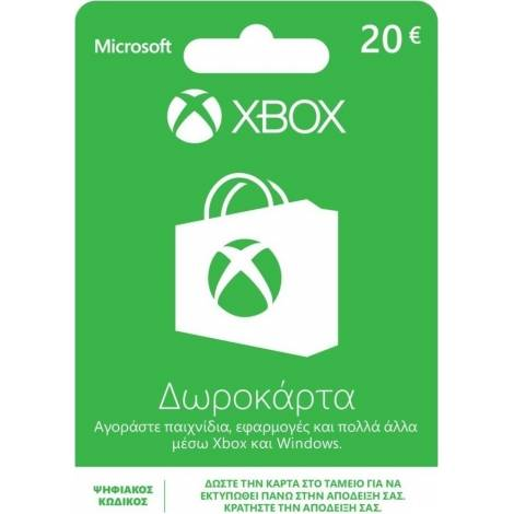 Microsoft XBox Live Card 20€ (Code Only)