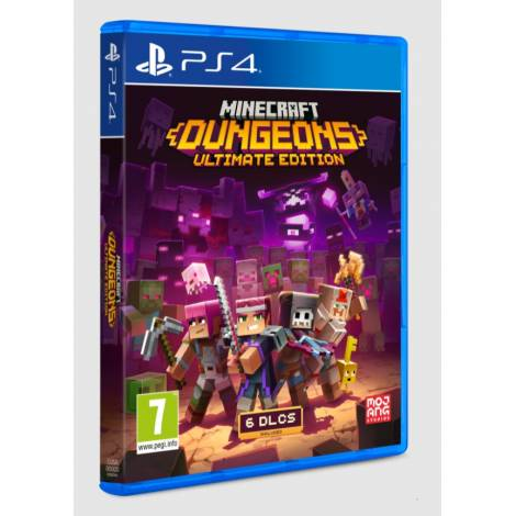 Minecraft: Dungeons (Ultimate Edition) (PS4)