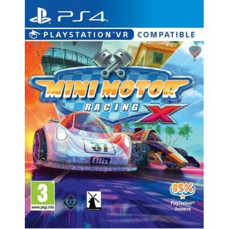 Mini Motor Racing X VR (Ps4) (VR Compatible)