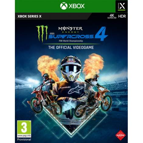 Monster Energy Supercross 4 (Xbox Series X)