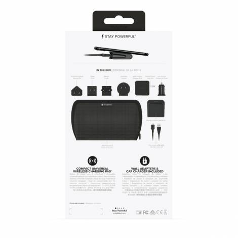Mophie Charge stream global travel kit black (401302090)