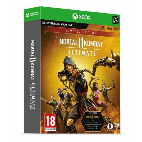 Mortal Kombat 11 Ultimate Limited Edition Steel Book  + Pre Order Bonus (Xbox One/Xbox Series X)