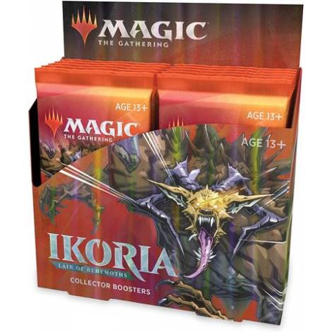 MTG Collector`s Booster Ikoria : Lair Of Behemoths Booster Box - Collectors Edition