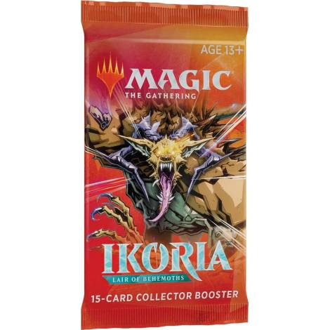 MTG Collector`s Booster Ikoria : Lair Of Behemoths Booster Pack