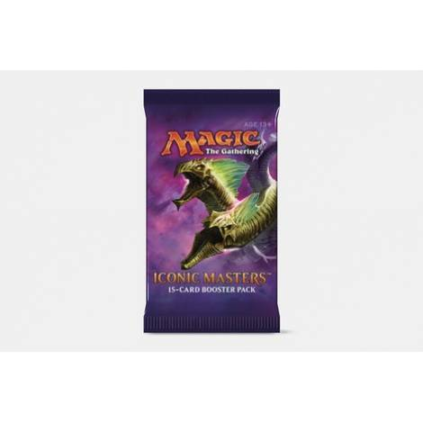 Iconic Masters - Magic: The Gathering - Wizards of the Coast Booster Pack