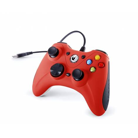 NACON Gaming Controller  Red Gamepad (PC) (PCGC-100RED)