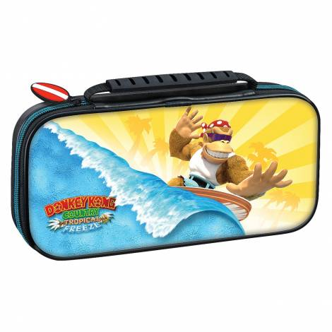 Nacon Official Switch Travel Case Donkey Kong Tropical Freeze