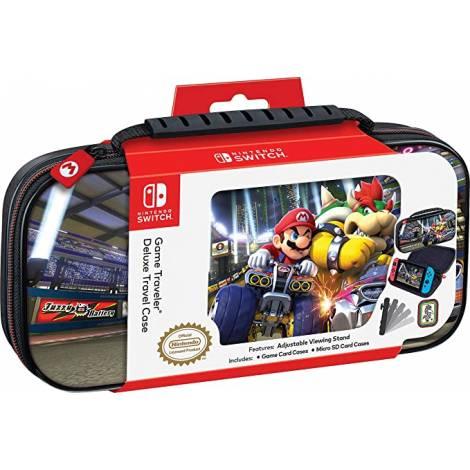 Nacon Official Switch Travel Case  Mario Kart Mario/Bowser