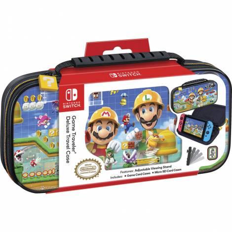 Nacon Official Switch Travel Case Mario Maker