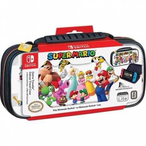 Nacon Official Switch Travel Case Super Mario Team