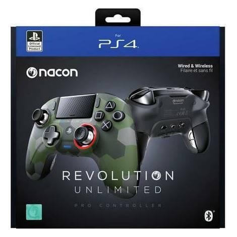 Nacon Revolution Unlimited Pro Camo Green  (PS4)