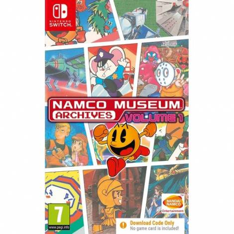 Namco Museum Archives Vol.1 (Code In A Box) (Nintendo Switch)