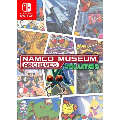 Namco Museum Archives Vol.2 (Code In A Box) (Nintendo Switch)