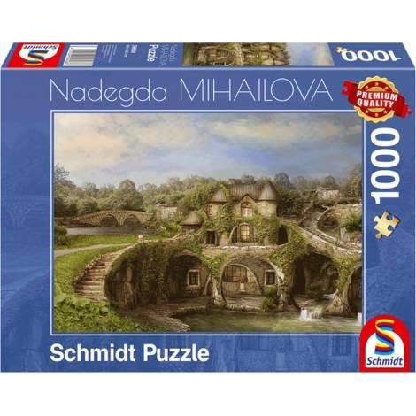 Nature House 1000pcs (59608) Schmidt Spiele