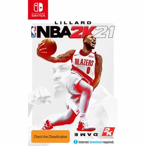 NBA 2K21 (GREEK) (Code in a Box) (Nintendo Switch)