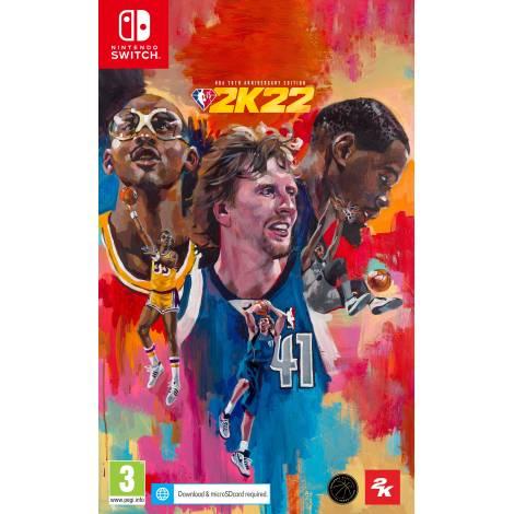 NBA 2K22 75th Anniversary Edition (Nintendo Switch) (Pre-Order Bonus)