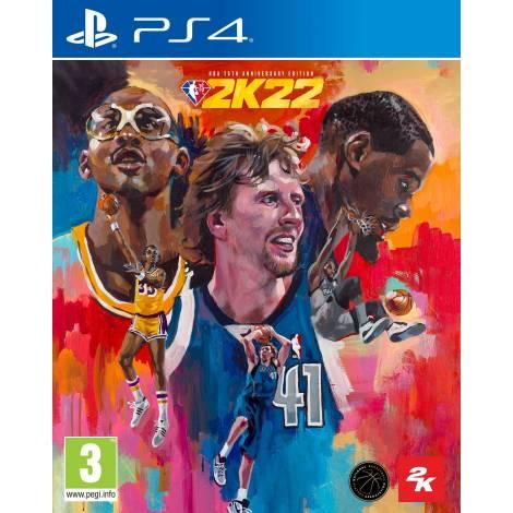 NBA 2K22 75th Anniversary Edition (PS4) (Pre-Order Bonus)