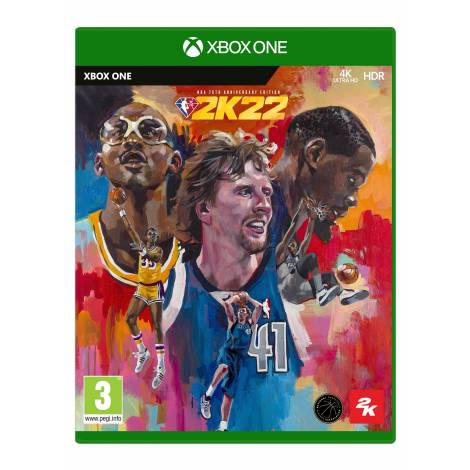 NBA 2K22 75th Anniversary Edition (Xbox One) (Pre-Order Bonus)
