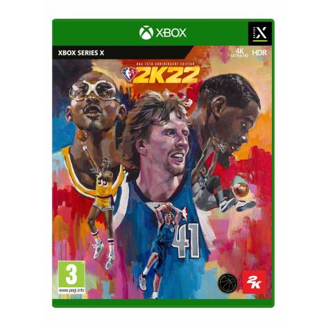 NBA 2K22 75th Anniversary Edition (Xbox Series X) (Pre-Order Bonus)
