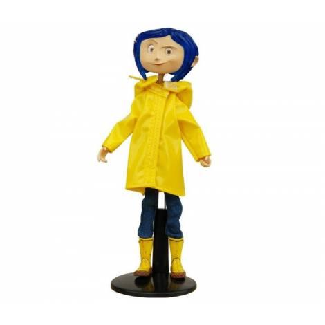 NECA Coraline Fashion Doll (Raincoat & Boots) Action Figure 18 cm (NEC49503)