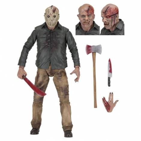 NECA Friday The 13th - The Final Chapter: Jason 1/4 Action Figure 45cm (NEC39718)
