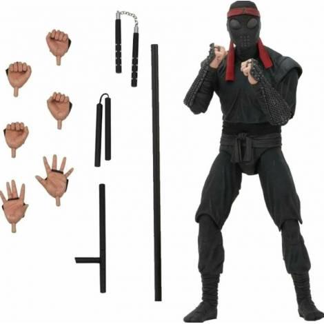 NECA Teenage Mutant Ninja Turtles: Foot Soldier (Melee Weaponry) Action Figure 18cm (NEC54112)