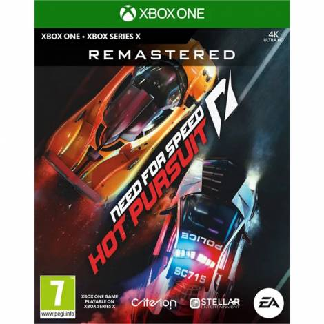 Need For Speed : Hot Pursuit Remastered  (Xbox One)