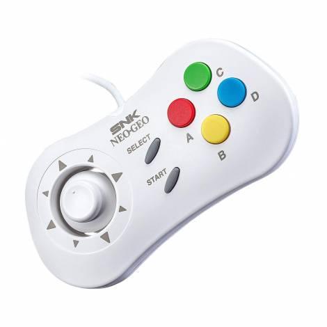 NEOGEO Mini Console Official Control Pad: White (NEOGEO Mini)