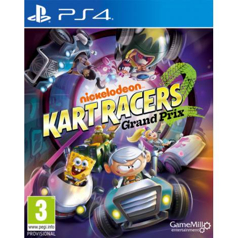 Nickelodeon Kart Racers 2 Grand Prix (PS4)