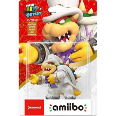 Nintendo Amiibo Super Mario - Bowser (Wedding Outfit)