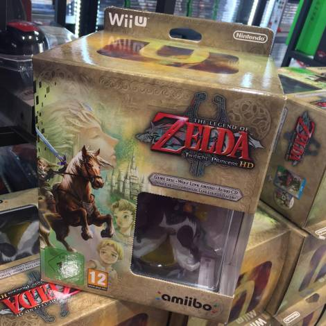 Nintendo Amiibo The Legend Of Zelda Twilight Princess & Amiibo - Limited Edition WII U