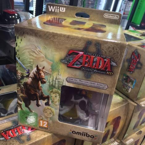 Nintendo Amiibo The Legend Of Zelda Twilight Princess & Amiibo - Limited Edition WII U