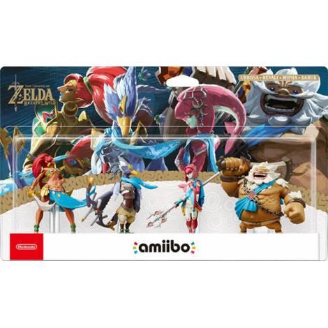 Nintendo Amiibo The Legend Of Zelda - Breath Of The Wild : Champions Figures 4 Pack