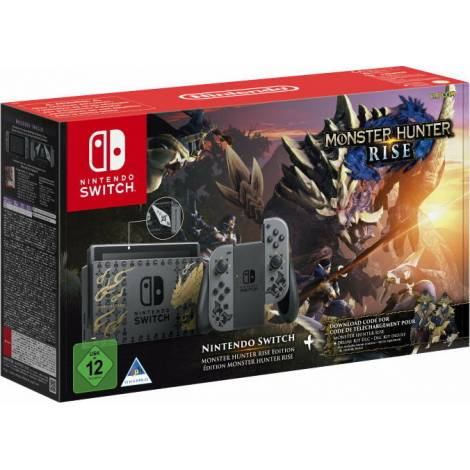 Nintendo Switch 32GB & Monster Hunter Rise Special Edition