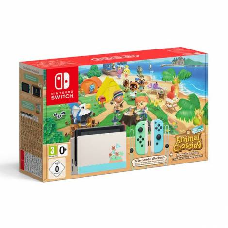 Nintendo Switch Console Animal Crossing :New Horizons Edition G/R