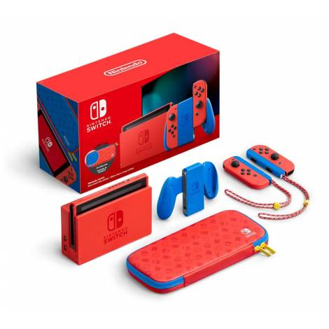 Nintendo Switch  Console  Mario Red & Blue (SPECIAL EDITION) G/R