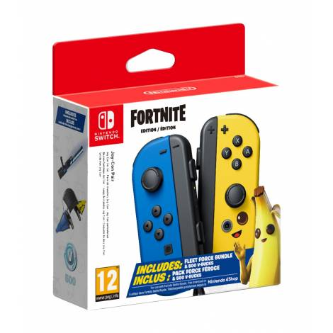 NINTENDO SWITCH JOY-CON PAIR FORTNITE EDITION