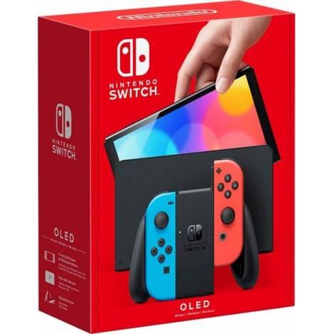 Nintendo Switch OLED Model Neon Red/Neon Blue Joy-Con