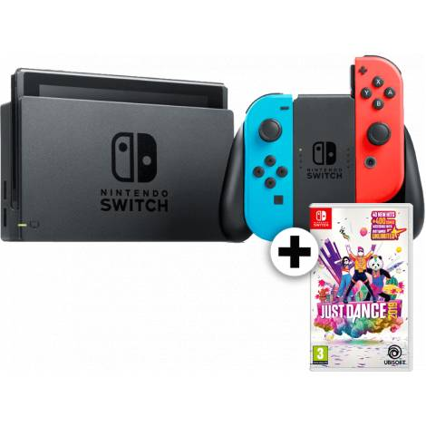 Nintendo Switch Red/Blue Just Dance 2019