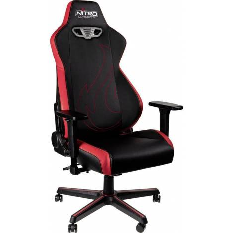 NITRO CONCEPTS S300 EX GAMING CHAIR – INFERNO RED