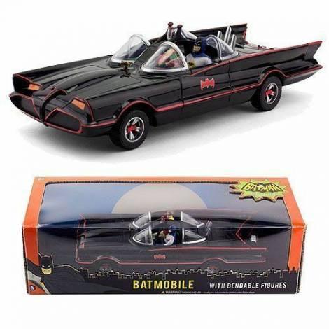 NJ Croce - Classic Batmobile With Bendable Figures (DC3930)