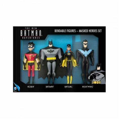 NJ Croce Σετ Φιγούρες Batman (4 σχέδια)
