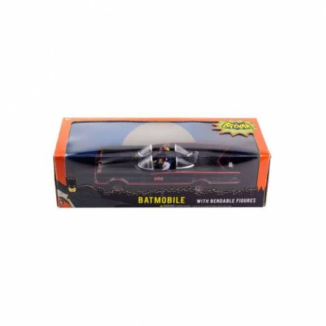 NJ Croce Σετ με Επετειακές Φιγούρες Batman-Robin & Batmobile
