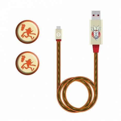 Numskull Offical Crash Led Cable & Grips