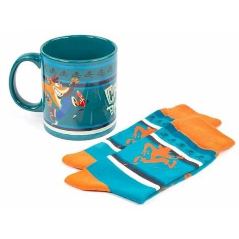 Numskull Official Crash Gift Pack - Mug & Shocks