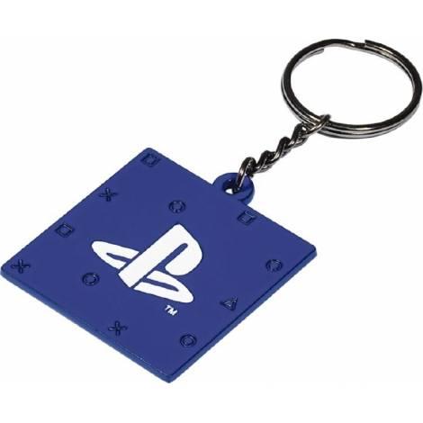 Numskull Playstation Metal Keychain