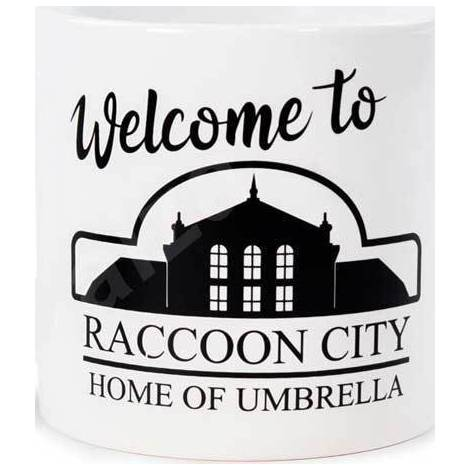 Numskull Resident Evil Mug - Welcome To Raccoon City