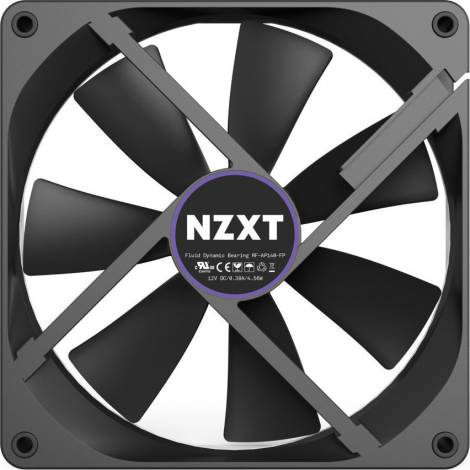 NZXT Aer P 140mm Static Pressure Fan - 4 PIN -Fluid Bearing (RF-AP140-FP)